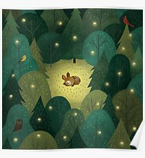 Baby Fawn Poster