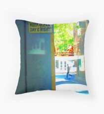 pedestrian Throw Pillow