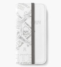 Always-Be-Yourself-Unless-You-Can-Be-A-Pirate-Funny iPhone Wallet/Case/Skin