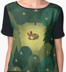 Baby Fawn Women's Chiffon Top