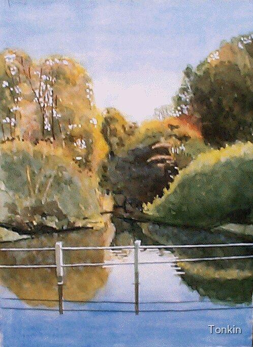 Cerbe Abbas, Somerset by Tonkin