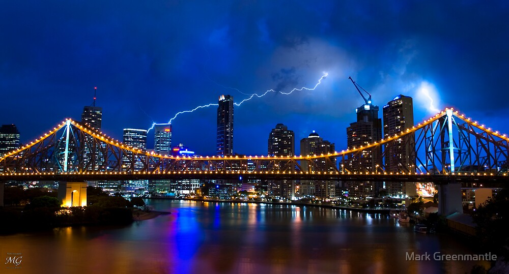 Brisbane Under Fire by Mark Greenmantle