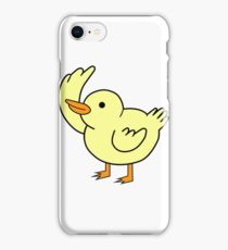 Baby Duuuuuuck  iPhone Case/Skin