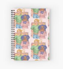 couple! by PINKcyclops Spiral Notebook