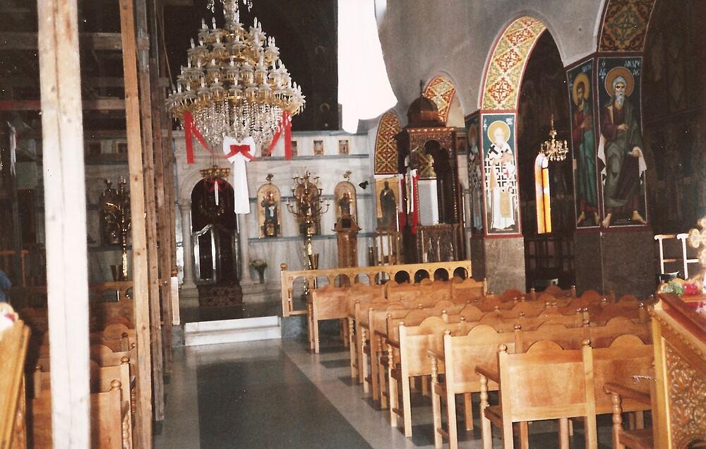 Church Greece by Patrick Ronan