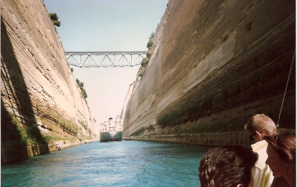 Bridge over water by Patrick Ronan
