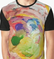 Paint Splotches  Graphic T-Shirt