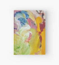Paint Splotches  Hardcover Journal