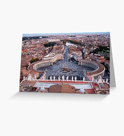 St Peter's in Rome Greeting Card