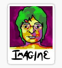 Imagine- John Lennon Sticker