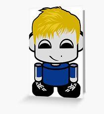 Sven O'BABYBOT Toy Robot 1.0 Greeting Card