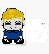Sven O'BABYBOT Toy Robot 1.0 Postcards