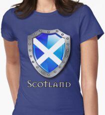 Scotland Saltire Shield T-Shirt