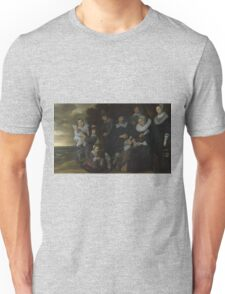 Frans Hals - A Family Group In A Landscape Unisex T-Shirt