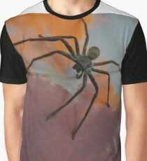 spider on the wall Graphic T-Shirt
