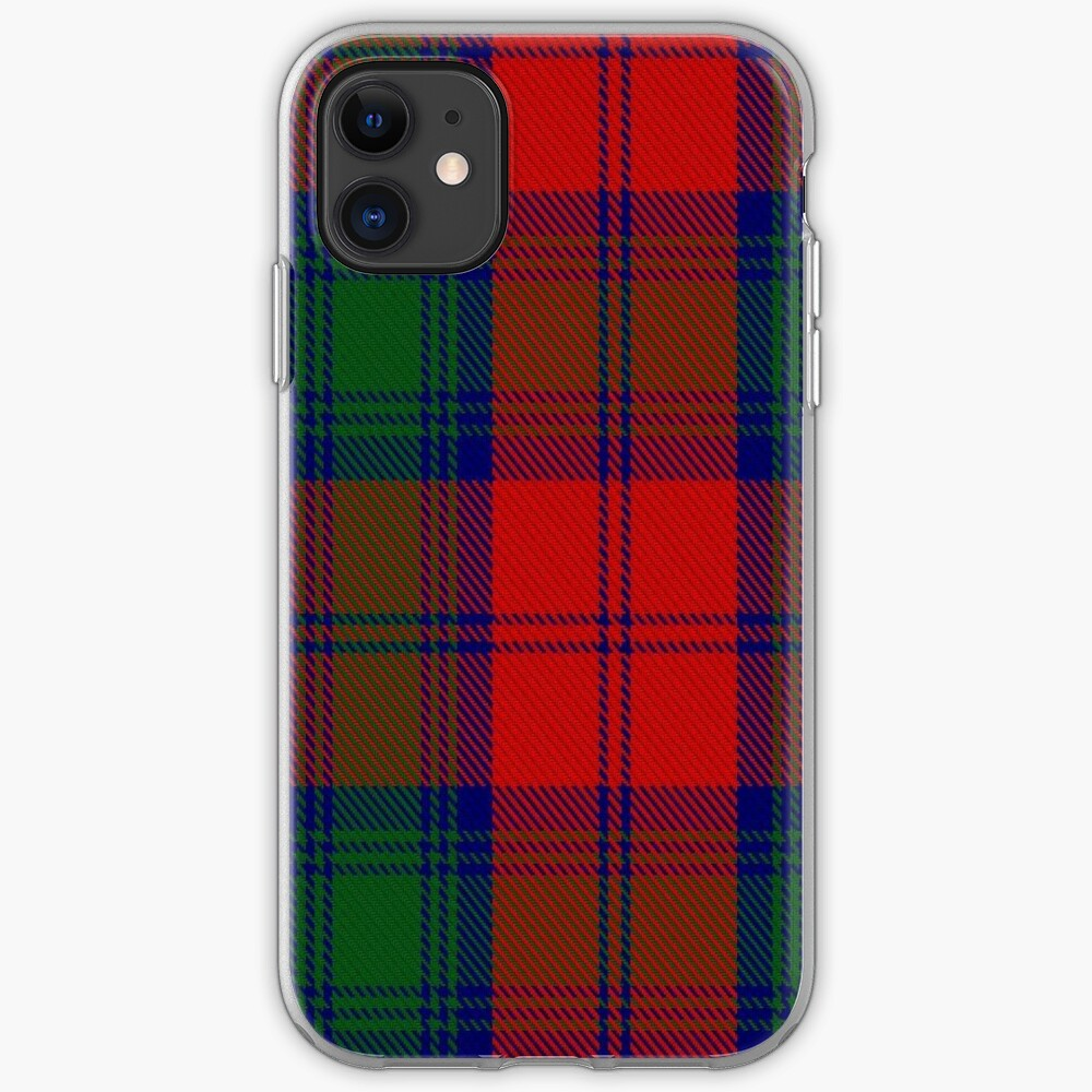 Lindsay Clan/Family Tartan  iPhone Case & Cover
