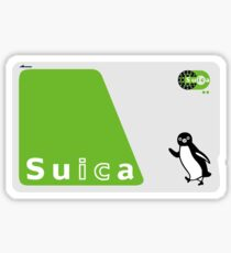 Suica Card Sticker
