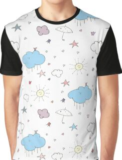 Clouds & Stars Graphic T-Shirt