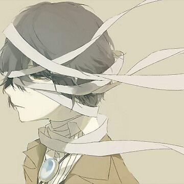 Sad Dazai by Mars-kun