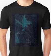 USGS TOPO Map Colorado CO Colorado Springs 400772 1948 24000 Inverted Unisex T-Shirt