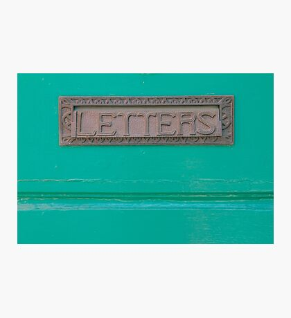 Letters to Maine Photographic Print