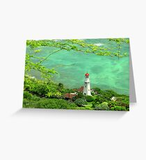 Oahu Lighthouse Greeting Card