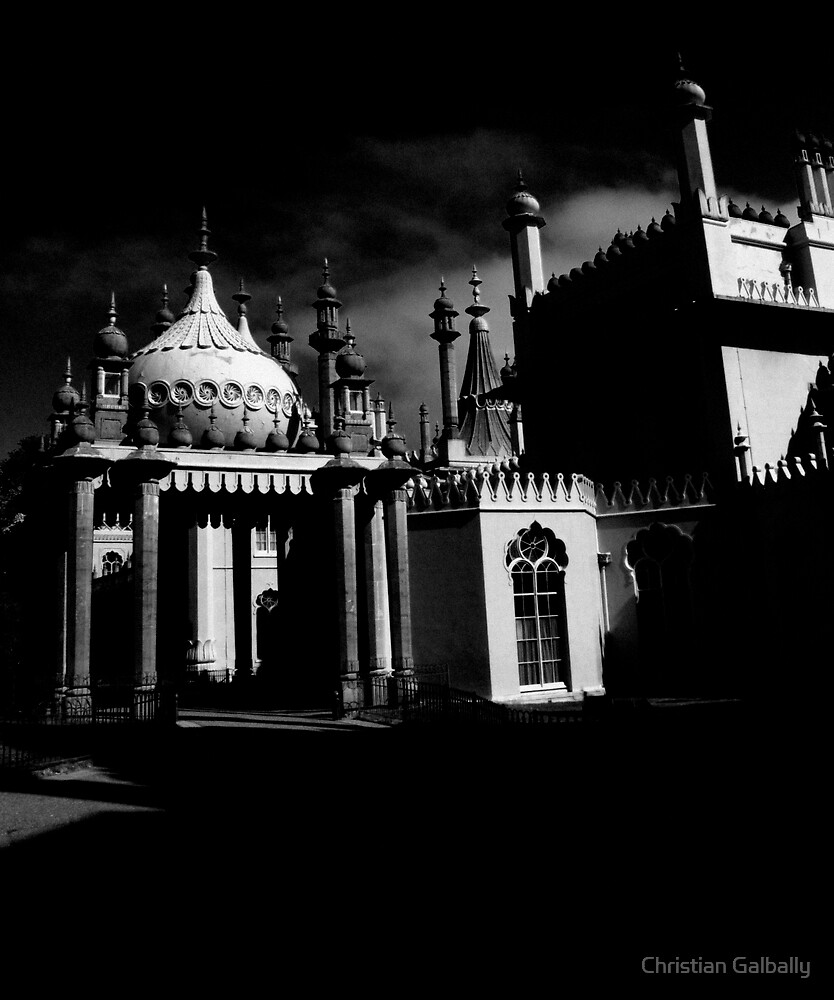 Brighton Pavilion by Christian Galbally