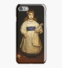 Frank Duveneck - Mary Cabot Wheelwright 1882 iPhone Case/Skin