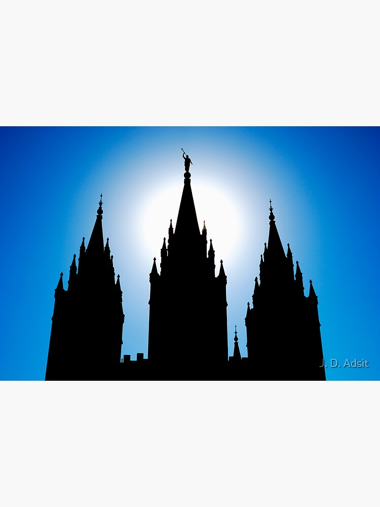Salt Lake Silhouette by adsitprojectpro