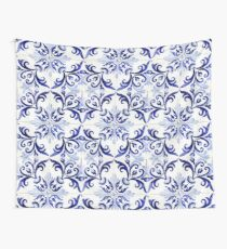 tiles pattern VI - Azulejos, Portuguese tiles Wall Tapestry