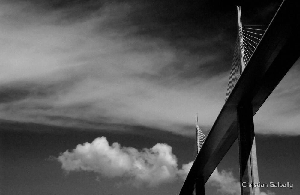 Millau Viaduc 2 by Christian Galbally