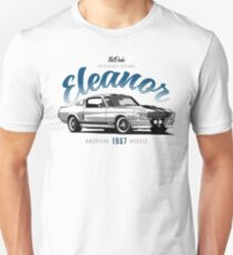 1967 Mustang Fastback - Eleanor T-Shirt