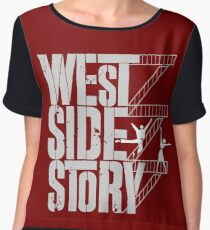 west side story Chiffon Top