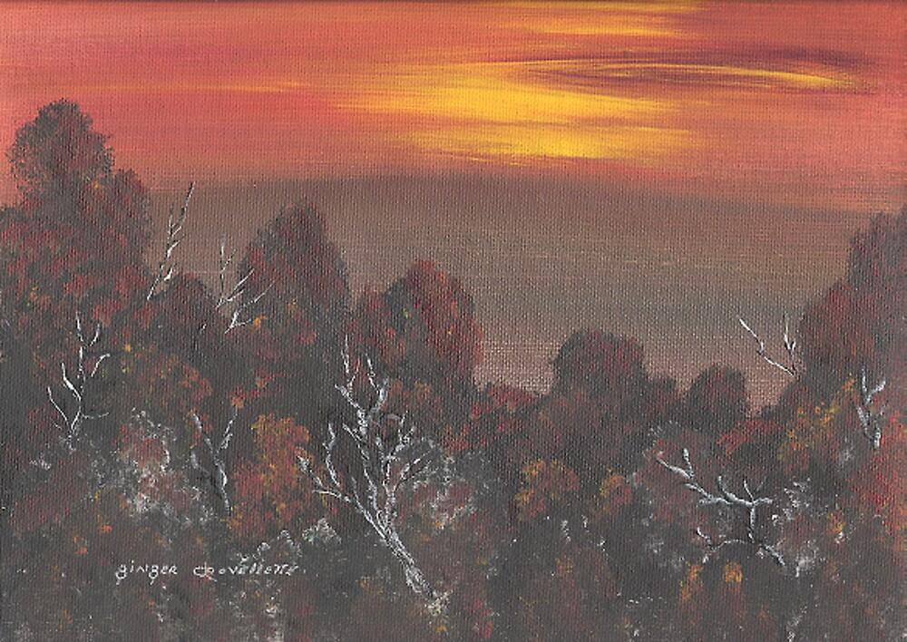 Sunset by Ginger Lovellette