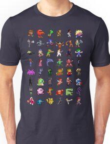 8-Bit Heroes Unisex T-Shirt