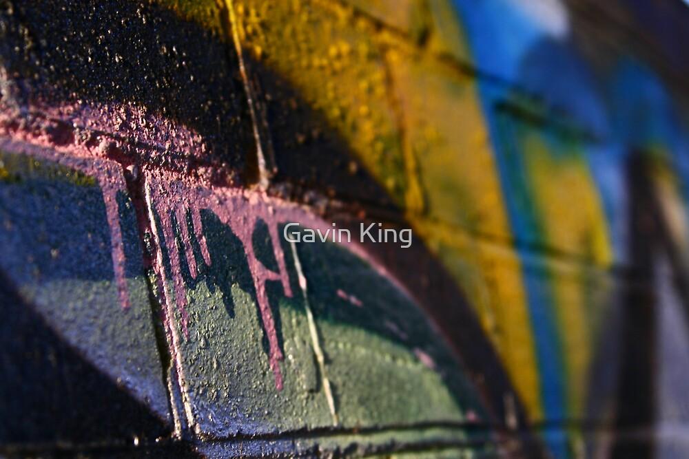 Pinkdrips by Gavin King