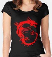 MSI Dragon Women's Fitted Scoop T-Shirt