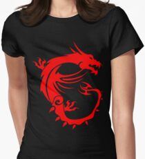 MSI Dragon Womens Fitted T-Shirt