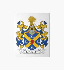 Dandy Coat of Arms Art Board