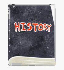 retro cartoon history book iPad Case/Skin