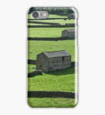 Gunnerside Barns iPhone Case/Skin