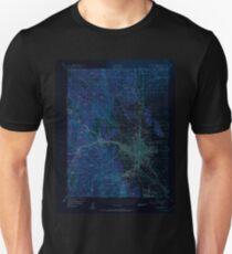 USGS TOPO Map Colorado CO Colorado Springs 402256 1951 62500 Inverted Unisex T-Shirt