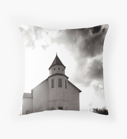 Marble Plains Church Franklin County Tennessee Throw Pillow