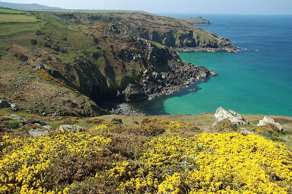 Zennor Head, Cornwall by jimlad