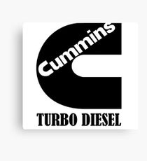 Cummins Turbo Diesel Canvas Print