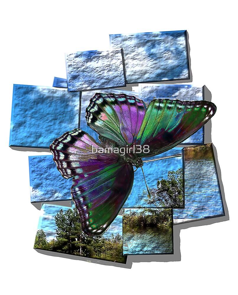 Blue Butterfly  by bamagirl38