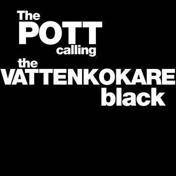 The Pot calling the Kettle Black - white by BadChicken