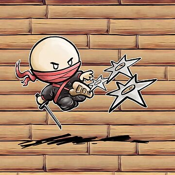 Tiny Ninja by DocHackenbush
