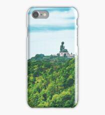 Buddha on Mountain iPhone Case/Skin