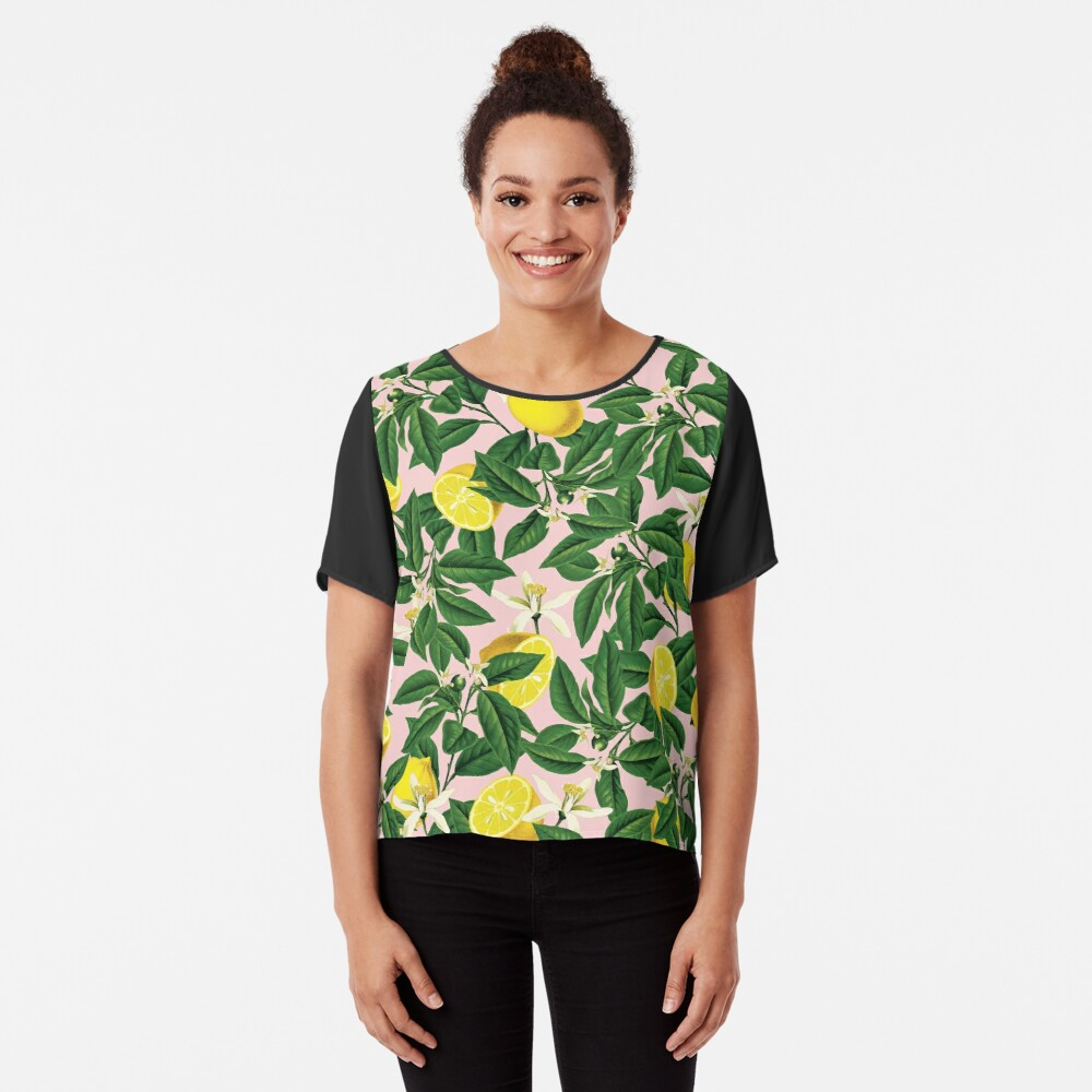 Limonade II #redbubble #decor #buyart Chiffon Top
